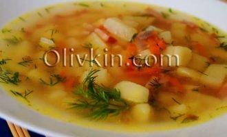 суп с ветчиной
