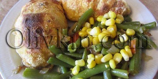 Куриные наггетсы с начинкой