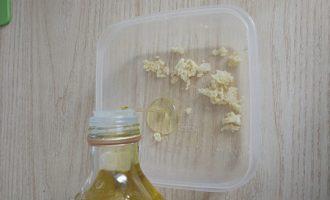 масло и чеснок