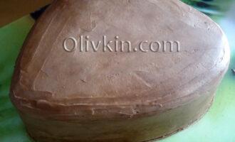 торт готов к украшению